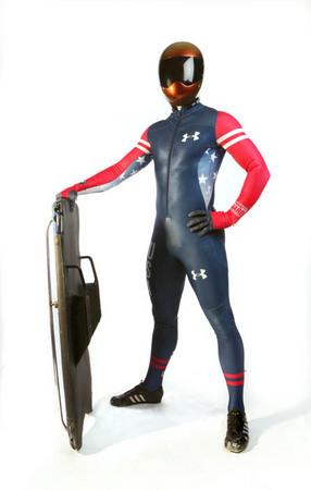 2014 US Winter Olympic Athletes   11   John Daly, Skeleton ...