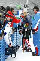 Vonn answers questions about her injury.
