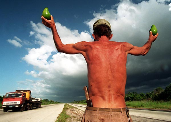 Avocado salesman. : Cuba in Evolution : Austin, Texas Photographer | editorial, commercial, sports, music, news, portrait